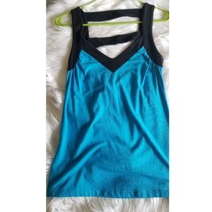 Express Color Block, Cut-Out Back, Tank Top